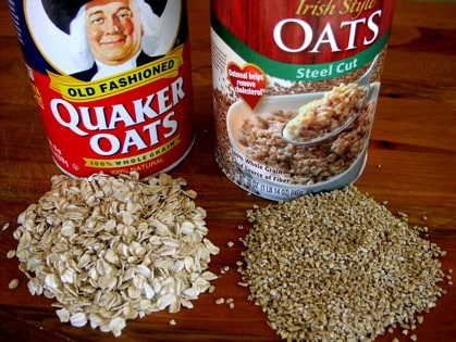 Rolled Oats Vs Quaker Old Fashioned Oats