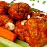 Buffalo Chicken Meatballs - Clean+Delicious®