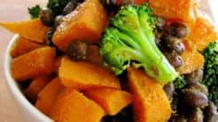 Broccoli & Sweet Potato Bowl