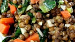 Lentils And Greens