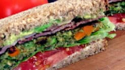 Veggie Burger B.L.A.T