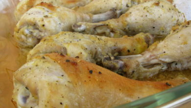 Baked Lemon Pepper Drumsticks