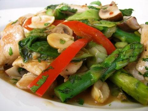 Chicken And Veggie Stir-fry