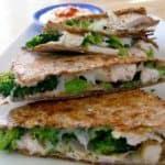 Chicken & Broccoli Quesadilla