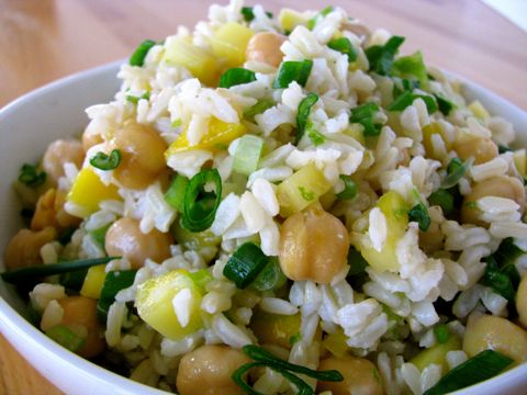Mango & Brown Rice Salad