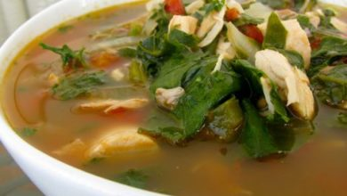 Chard and Chicken Soup