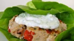 Greek Turkey Burger