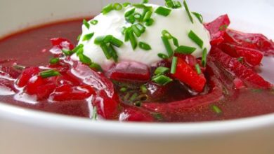 Beet And Fennel Soup
