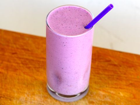 Oat and Berry Protein Shake