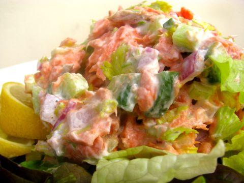 Wild Salmon Salad