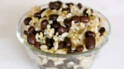 Easy Brown Rice and Beans