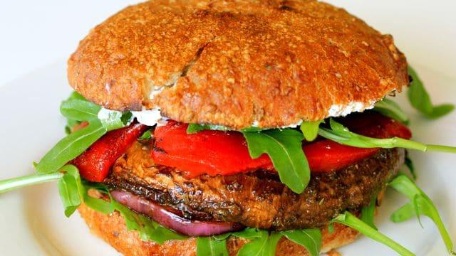 Portabella Mushroom Burger Clean Delicious