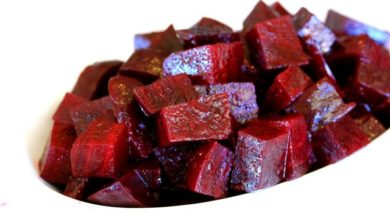 Simply Steamed Beets