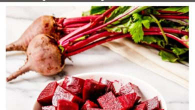 How to Steam Beets