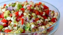 Raw Corn Salad