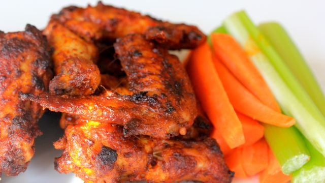 Baked Buffalo Wings - Clean+Delicious®