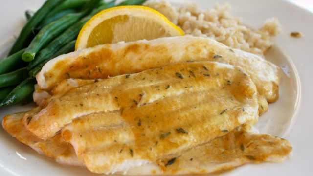 Broiled Sole With Mustard And Thyme Clean Delicious