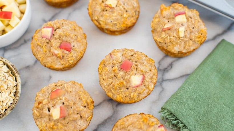 apple-protein-muffins