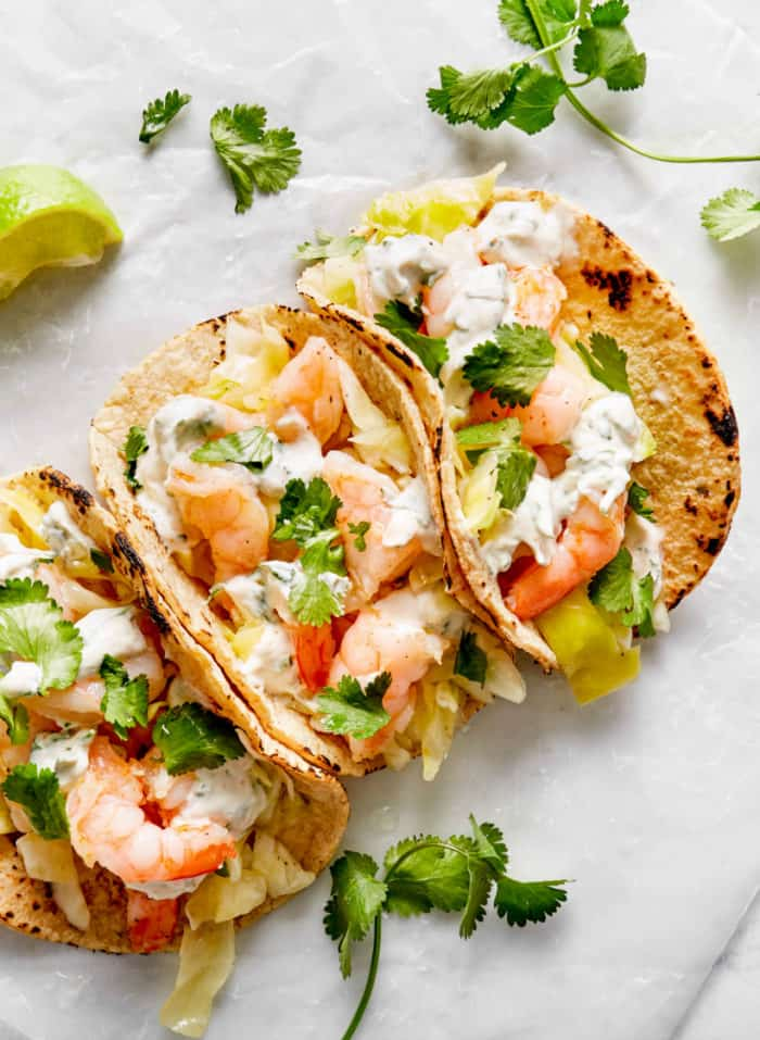 how to make shrimp tacos