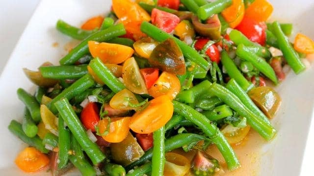 Green Bean Tomato Salad