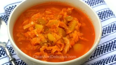 Cabbage Potato Soup