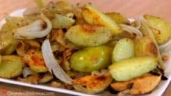 Roasted Potatoes With Fennel And Onions