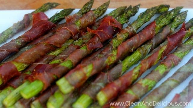 Prosciutto Wrapped Asparagus - Clean & Delicious®