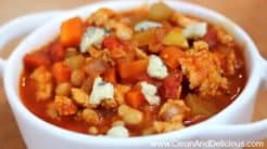 Buffalo Chicken Chili - Clean+Delicious®