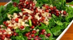 Kale And Pomegranate Salad - Clean+Delicious®