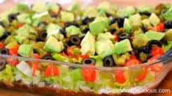 Clean Eating Taco Dip - Clean+Delicious.com