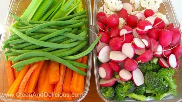 A Week Of Veggies - Clean & Delicious®