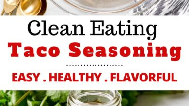 how to make clean eating taco seasoning