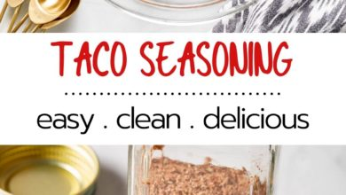 how to make healthy taco seasoning