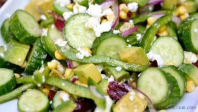 Persian Cucumber Salad - Clean & Delicious®