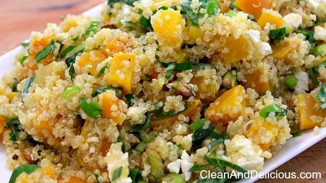 Golden Beet And Quinoa Salad With Feta - Clean & Delicious with Dani ...