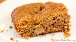 Paleo Apple Snack Cake - Clean&Delicious®