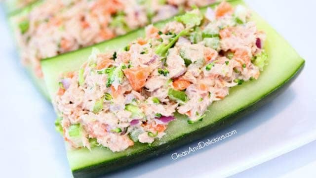 Tuna Veggie Boats