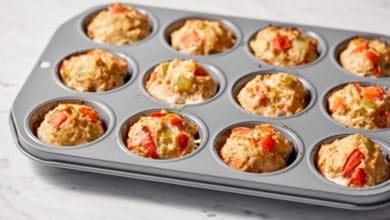 meatloaf muffins in muffin tin