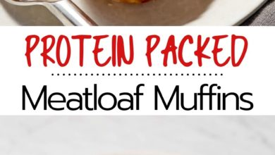 protein packed turkey meatloaf muffins