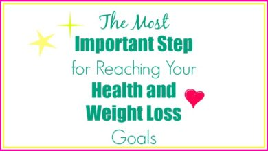 Health and Weight Loss Goals