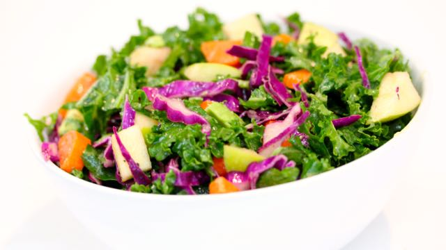Kale Crunch Salad - Clean & Delicious®