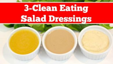 Clean eating Salad Dressings