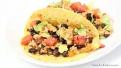 Turkey + Black Bean Tacos - Clean & Delicious®