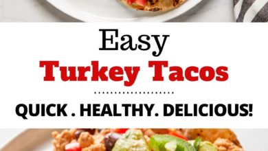 an easy turkey taco recipe