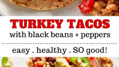 how to make turkey tacos