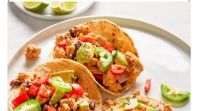 healthy turkey taco recipe