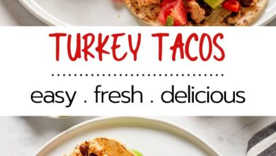 family friendly turkey taco recipe