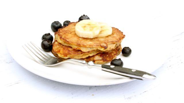 Grain Free Banana Pancakes