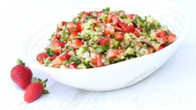 Strawberry Tabouli