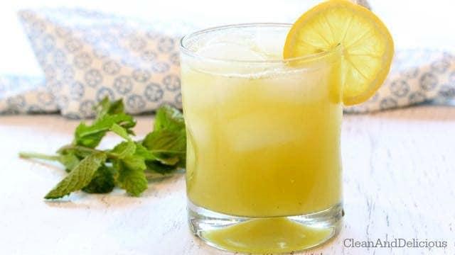 Cucumber + Mint Lemonade